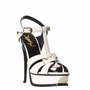 New Saint Laurent Tribute sandals